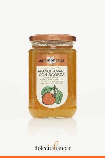 Marmellata di arance amare con scorza di Agrimontana