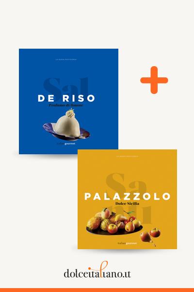 Combo libri: Profumo di limone di Sal De Riso + Dolce Sicilia di Santi Palazzolo